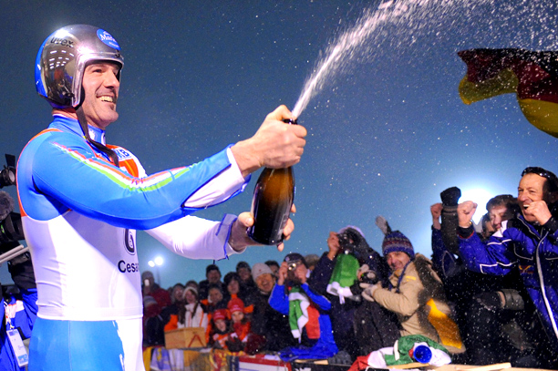 Representing: Italy Event: Luge His Story: Armin ''The Cannibal'' Zöggeler — seriously, that's his nickname, only they say it in Italian — is his sport's…
