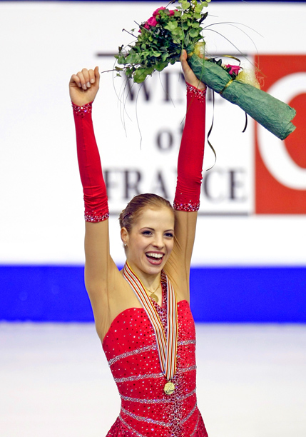 Representing: Italy Event: Figure Skating Her Story: Carolina Kostner was born to skate. Her father was the captain of Italy's ice hockey team at the…