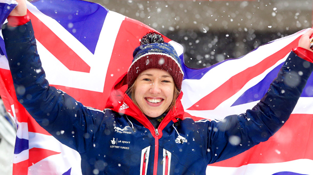 Representing: U.K. Event: Skeleton Her Story: Since 2002, Britain has won precisely four medals at the Winter Games — and three of them have been…