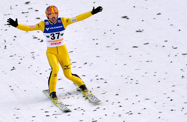 Representing: Japan Event: Ski Jump His Story: At 41, Noriaki Kasai became the oldest winner of a ski jump World Cup competition this past January,…