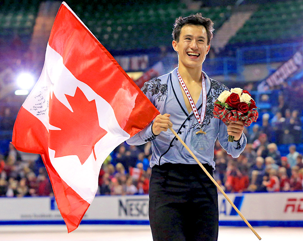 Representing: Canada Event: Figure Skating His Story: He didn't take any hardware home from his Olympic debut in Vancouver, but Chan has racked up three…