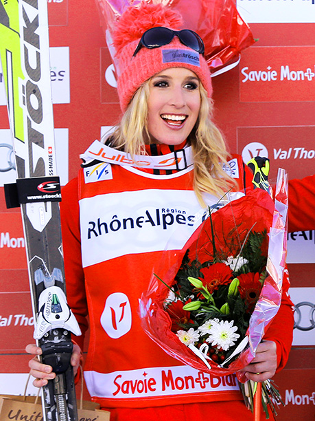 Winter Olympics 2014   Age: 27 Sport: Freestyle Skiing Team: Switzerland Fun Fact: The Swiss hottie finished a disappointing 35th at the Vancouver Games and her Sochi journey has…