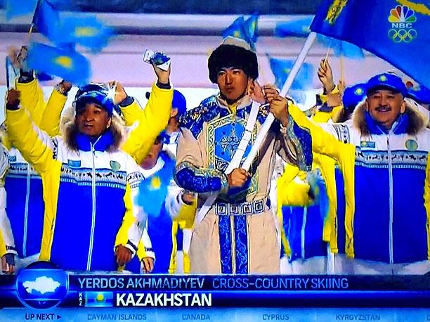 Winter Olympics 2014 | Kazakhstan