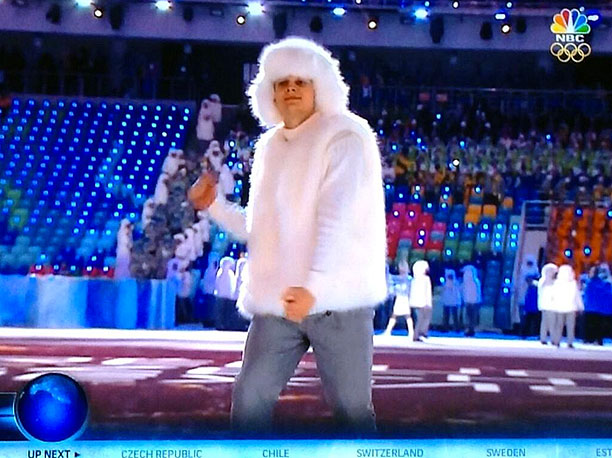 Winter Olympics 2014 | Oh, now you wanna dance, now that Russia is about to come out.