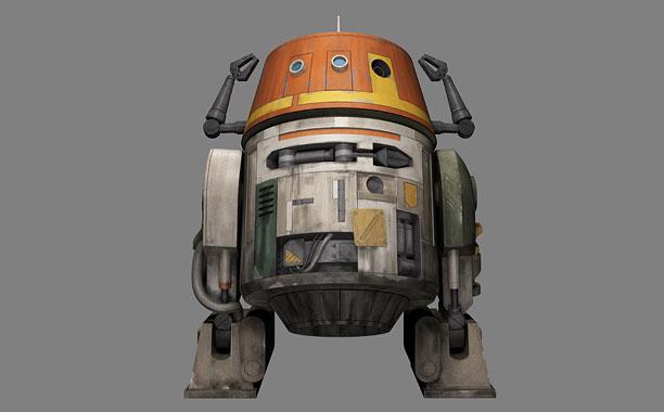 Star Wars Rebels Chopper