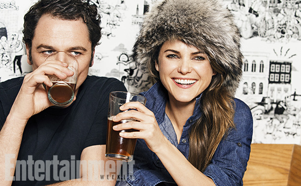 The Americans' Matthew Rhys and Keri Russell