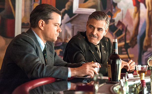 MONUMENTAL SLIP Despite a stellar cast and an interesting story The Monuments Men is not nearly entertaining enough.