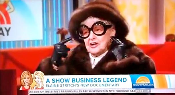 Today Show Elaine Stritch