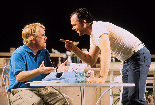 Philip Seymour Hoffman | In the revival of Sam Shepard's 1980 play, Hoffman and Boogie Nights costar John C. Reilly alternated roles as brothers with a fraught relationship. The…