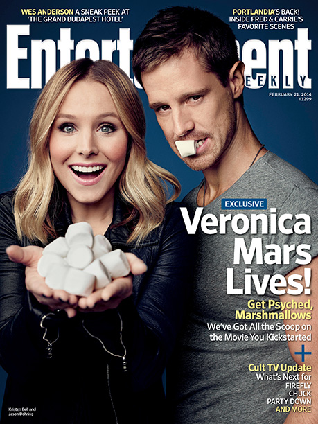 Kristen Bell, Veronica Mars | For more exclusive news on the Veronica Mars movie, pick up a copy of the latest EW on newsstands now or buy it here .