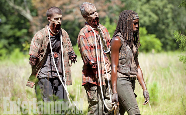 The Walking Dead | It seems Michonne (Danai Gurira) may be back on her own after the fall of the prison, but she's found some new friends to keep…