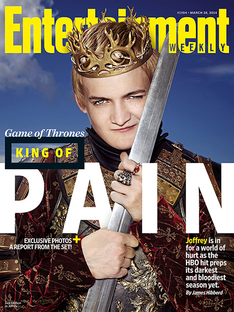 Game of Thrones   For more exclusive, on-set access to Game of Thrones , pick up this week's issue on newsstands or buy it here .