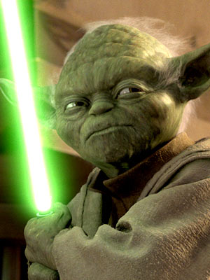Star Wars: Episode III - Revenge of the Sith | Very powerful, dull green is. Helps the little guy camouflage in those Dagobah swamps, too. — Simon Vozick-Levinson