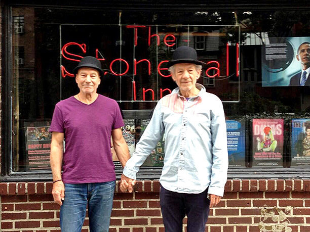 Stonewall! #gogodididonyc @TwoPlaysInRep 2 shows left!