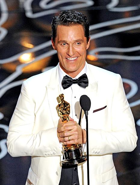 Academy Awards Matthew Mcconaughey