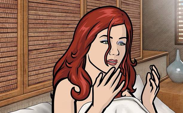 Archer | First appeared in: ''Heart of Archness: Part 1'' (Season 3, Episode 1) Role in the Archer -verse: Newlywed who finds herself in bed with Archer…