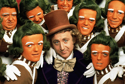 Willy Wonka and the Chocolate Factory | Orange faces, green hair, and frosting-white eyebrows make these hard workers an integral — and tasty-looking — part of the original 1971 Willy Wonka and…