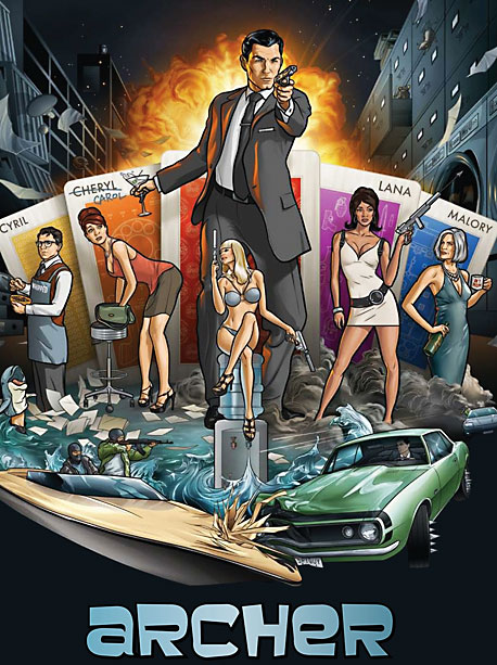 2009-present, FX What It's About: A James Bond spoof set in a spy agency populated entirely by degenerate narcissists, led by Sterling Archer, a caddish…