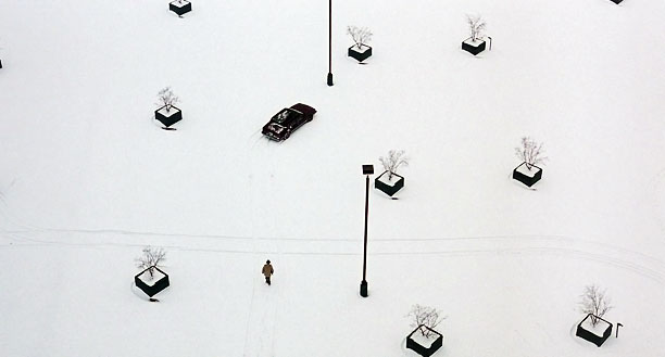 2. The Empty Parking Lot, Fargo