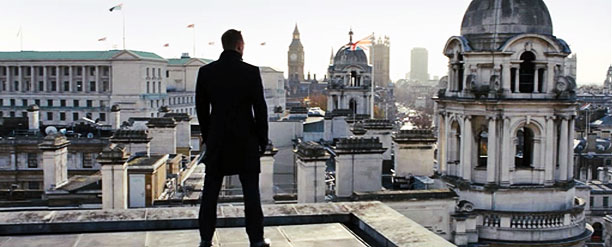 3. The British Superhero, Skyfall