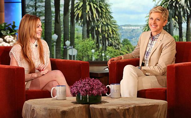 Ellen Degeneres Show Lindsay Lohan