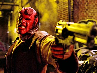 Hellboy, Ron Perlman | He can saw off those horns as he tries to escape his demonic heritage (in comic books and movies, including Hellboy II: The Golden Army…
