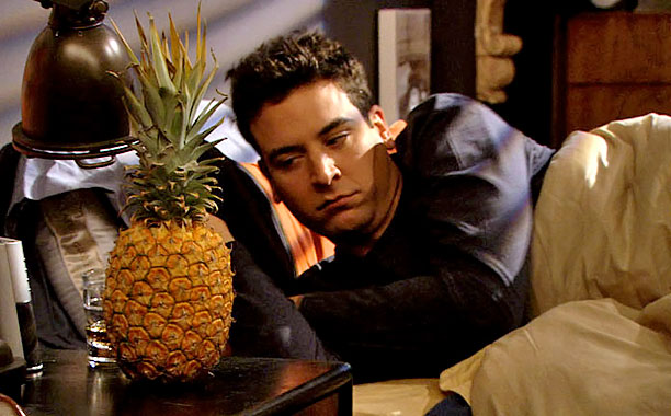 Season 1, episode 10 This episode exemplifies the show's nonlinear storytelling, as we begin in Ted's bed with a mystery girl and a pineapple and…