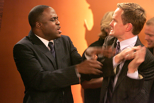 How I Met Your Mother | Season 2, episode 10 Say hello to Wayne Brady as James Stinson, Barney's gay and equally legendary brother. The two love to play wingman for…