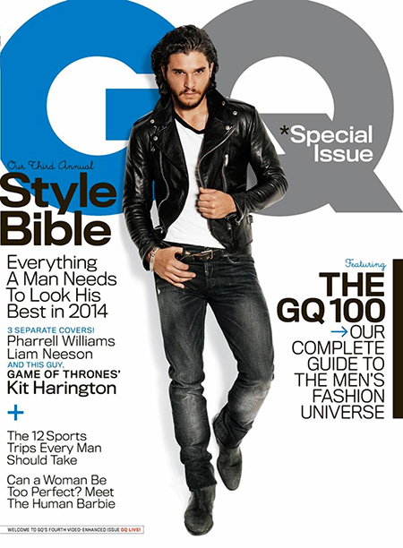 Kit Harrington GQ