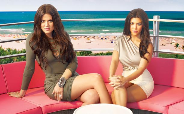Kourtney And Khloe Take Miami