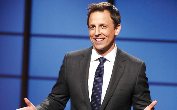SPEND A LATE NIGHT WITH SETH MEYERS you won't regret it