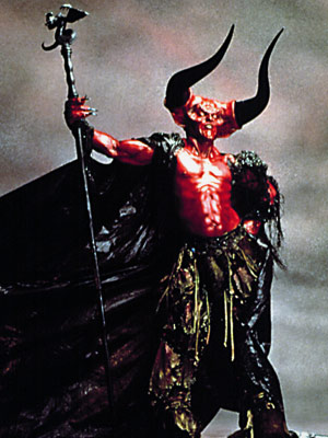 Legend, Tim Curry | Tim Curry's supremely evil baddie in the 1985 cult flick Legend is actually more of a lustrous scarlet, but ''The Lord of Redness'' just wouldn't…
