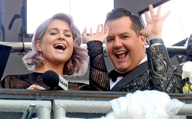 Kelly Osbourne and Ross Mathews