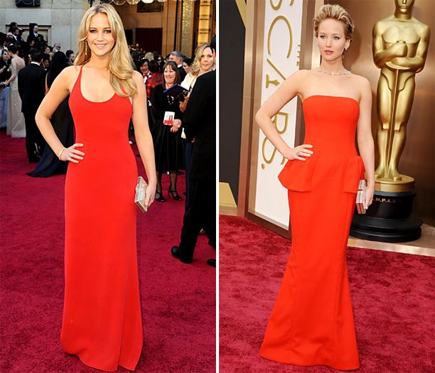 Oscars Style Jennifer Lawrence
