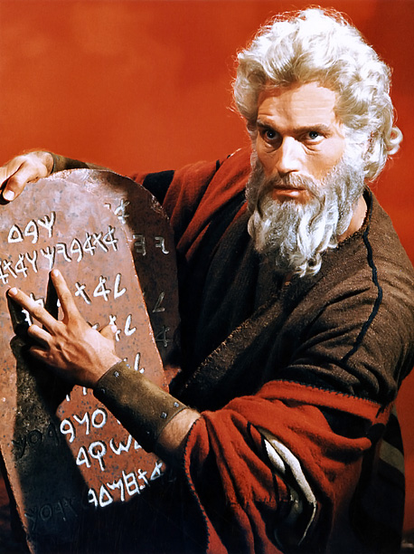 Cecil B. DeMille's final extravaganza is the alpha and omega of lavish biblical epics, as Charlton Heston lets his people go. — Lisa Schwarzbaum