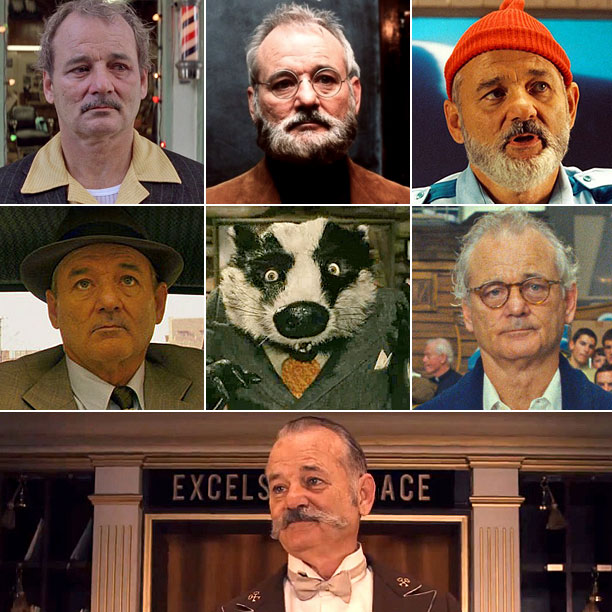 Wes Anderson | Like many of his '90s indie-auteur brethren, Anderson has a cast of regulars who pop up frequently in his movies — and Grand Budapest features…