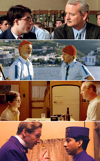 Wes Anderson | Anderson's young protagonists are often inevitably paired up with older men. The two characters often reflect younger/older versions of each other?which might explain why they…