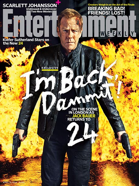 24, Kiefer Sutherland | For more on Jack and the gang's return to TV, pick up a copy of EW on newsstands or buy the issue here .