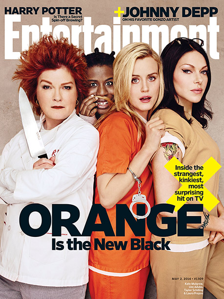 Orange Is the New Black, Kate Mulgrew, ... | For more on OITNB season 2, pick up EW on newsstands or buy a copy now .