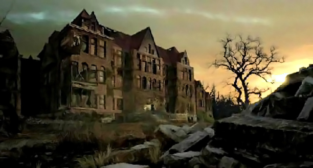 As seen in: American Horror Story: Asylum ''Keep Out'' signs: Thrill-seeking honeymooners might be intrigued by the abandoned hospital in Massachusetts, but scars left by…
