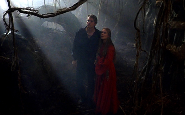 The Princess Bride | As seen in: The Princess Bride ''Keep Out'' signs: Filled with flame spurts, ROUSes (that's ''rodents of unusual size''), and lightening sand, the fire swamp…