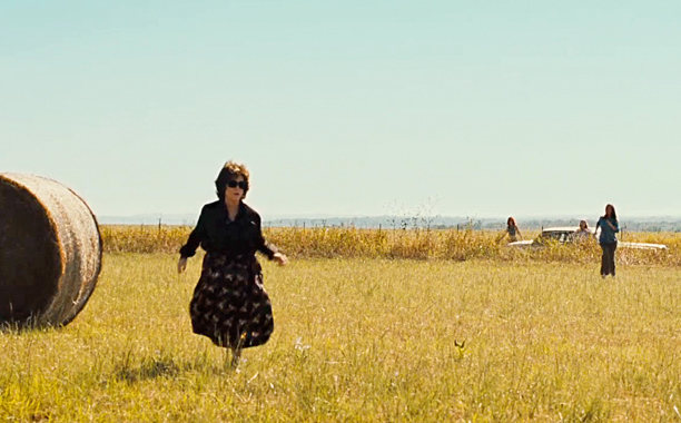 August: Osage County | As seen in: August: Osage County ''Keep Out'' signs: To quote The Community 's Kathryn Luttner, it's ''where happy families go to die.'' This hotbed…