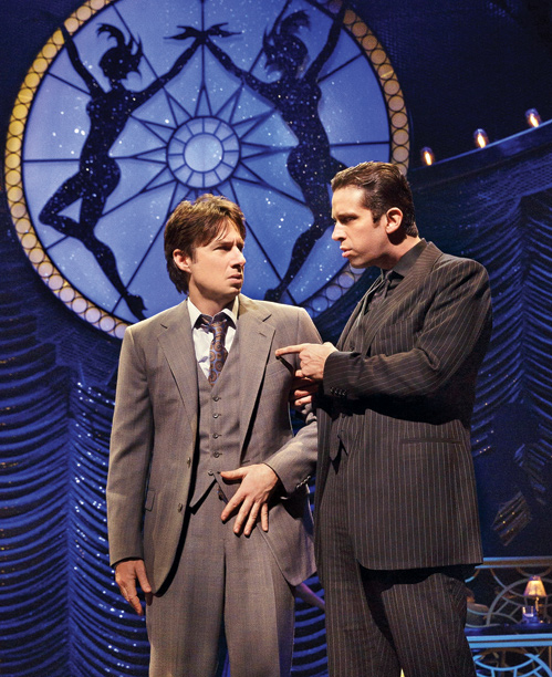 BULLETS OVER BROADWAY Zach Braff and Nick Cordero