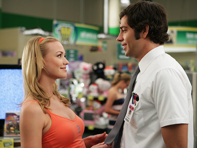 Chuck, Yvonne Strahovski, ... | Chuck , (2007-2012) Josh Schwartz and Co. brought the romantic tension between the Nerd Herder-turned-spy and his CIA handler to a boil in season 2.…