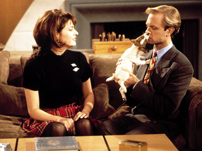 Jane Leeves, Frasier, ... | Frasier (1993-2004) Fact: If an unseen wife is portrayed as frigid, audiences will be more than happy to watch her husband flirt relentlessly with his…