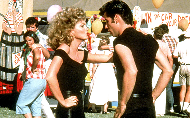 Sandy died at the beginning of Grease