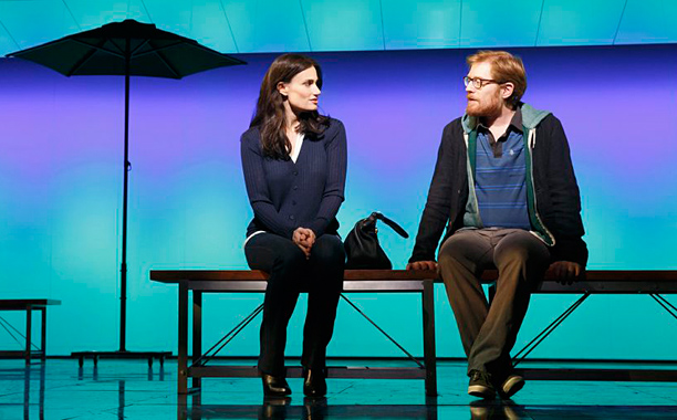 IF/THEN : ''Frozen'' fave Idina Menzel (pictured, with costar Anthony Rapp) shines in musical as a woman pursuing two different life paths