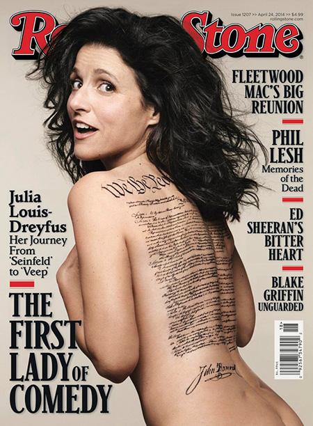 Julia Louis Dreyfus Rolling Stone