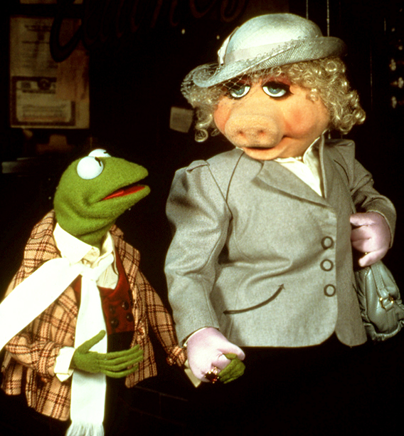 Kermit the Frog, The Muppet Show | The Muppet Show (1976-1981) Apparently, sexual harassment doesn't exist in the Muppet world, or Miss Piggy — Kathleen Turner in felt, only with a sharper…