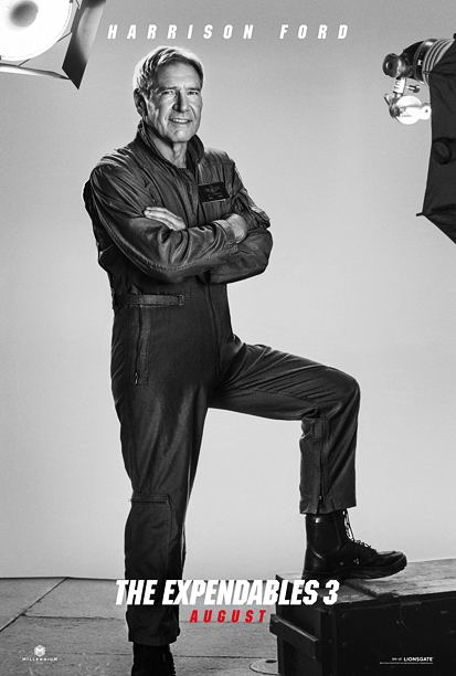 The most important image of the year, question mark? Harrison Ford. Smiling, kind of. Wearing what is supposed to be a flight suit but what,…